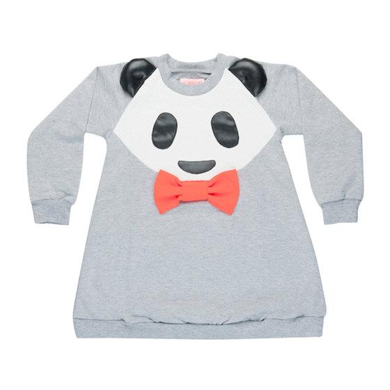 Grey Panda Dress