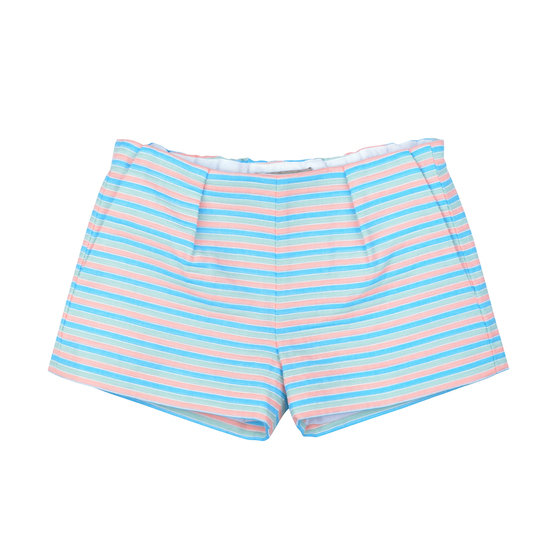 Multi coloured stripe shorts