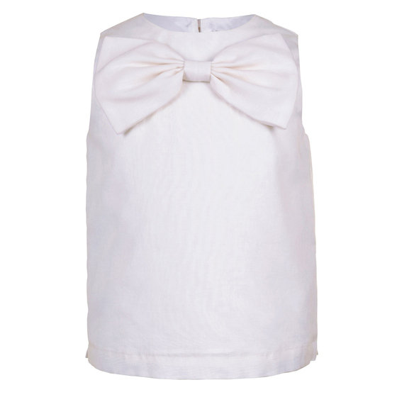Ivory Organdy Top