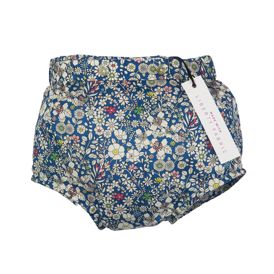 Liberty Print Navy Shorts