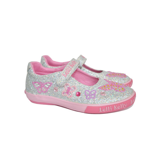 Butterfly Glitter Canvas Shoes