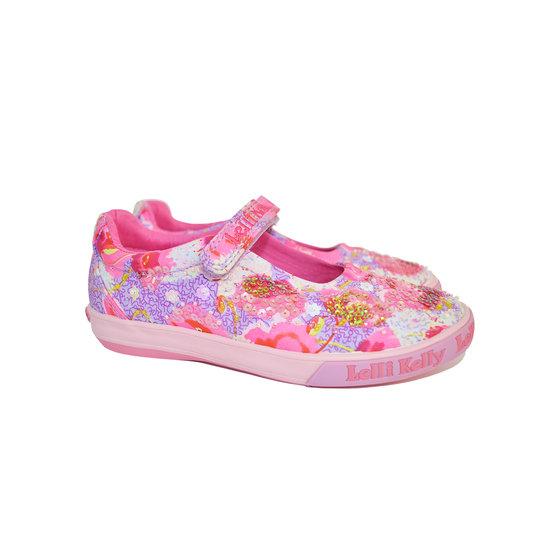 Lilac Lila Fantasia Canvas Shoes