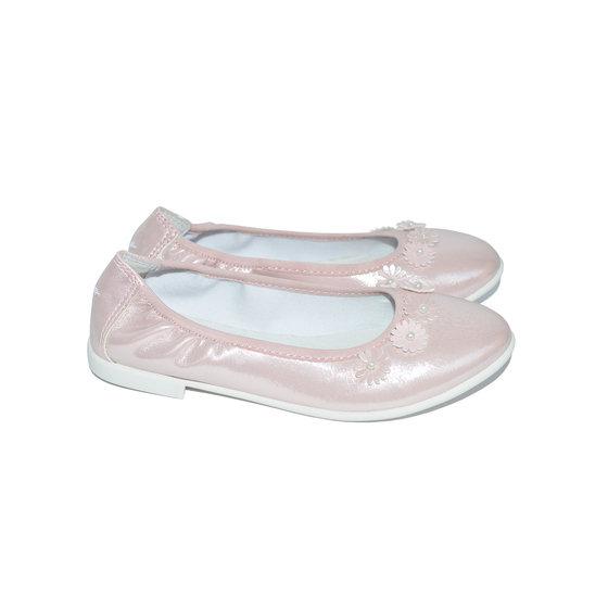 Baby pink ballerina flats
