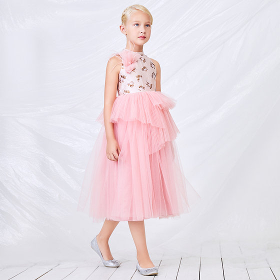 Pink Tulle Princess Dress