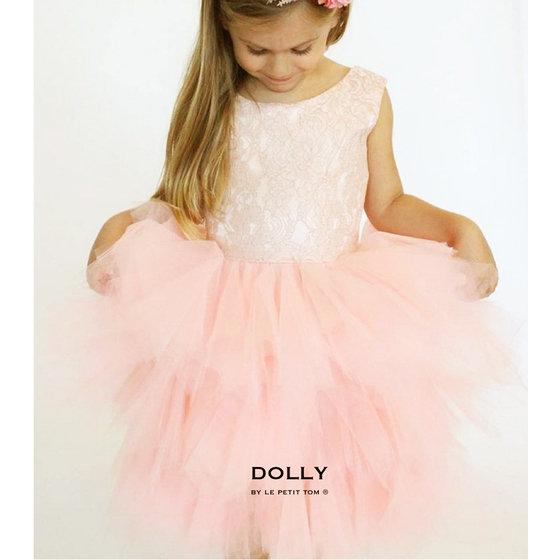 Ballerina Style Ballet Pink Tutu Dress
