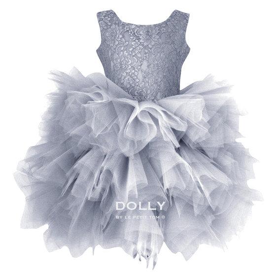 Ballerina Style Grey Tutu Dress