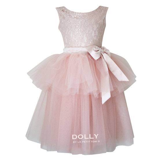 Ballet Pink Lace Tulle Dress