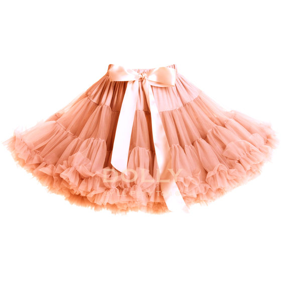 Dolly Peach Pettiskirt