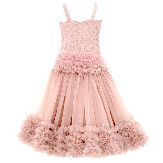 Ballet Pink Frilly Top and Tutu Skirt Set
