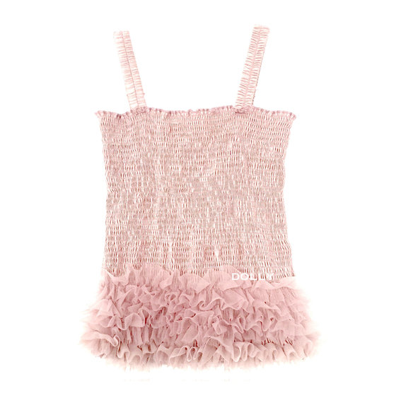 Ballet Pink Frilly Top
