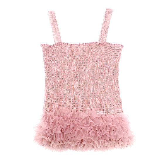 Rose Pink Frilly Top