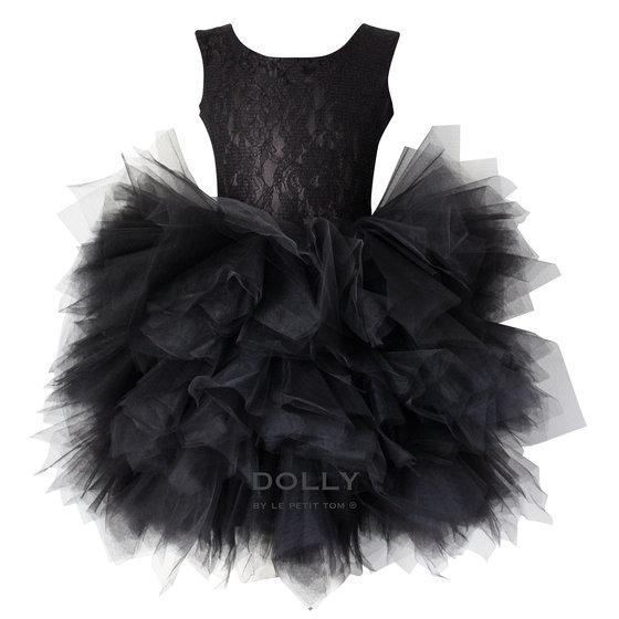 Ballerina Style Black Tutu Dress