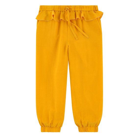 Loose Comfort Fit Silk Pants