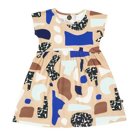 """Aho"" Printed Dress"