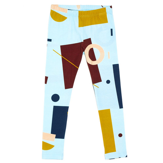 "Colorful Printed ""Voima"" Leggings"