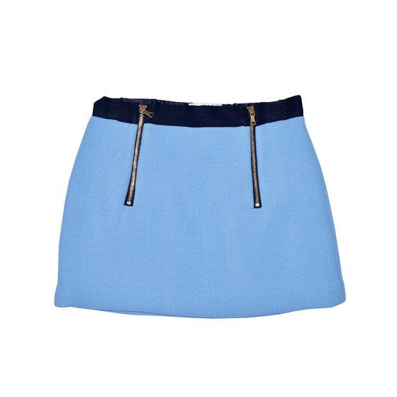 Girls Slim A-Line Mini Skirt