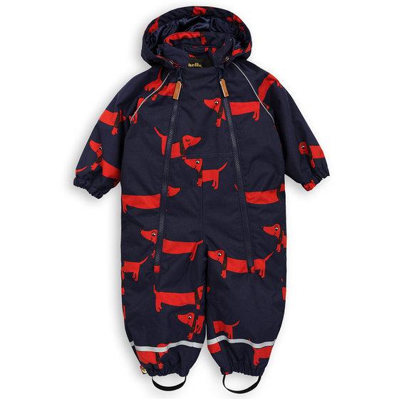 Baby Alaska Dog AOP Overall
