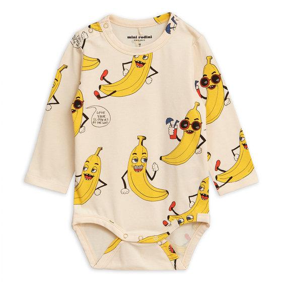 New Season: Banana AOP LS Body