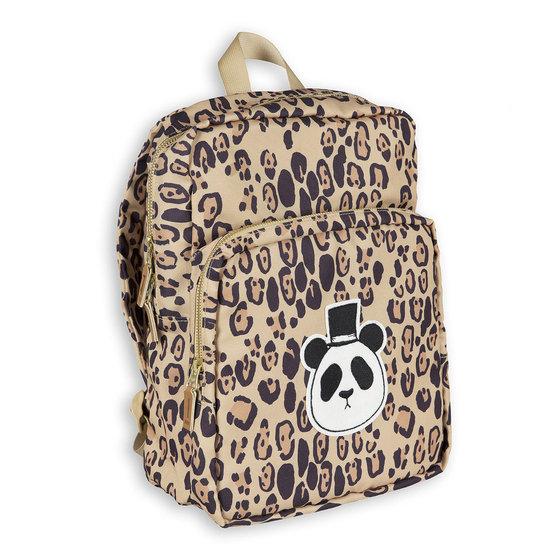 Basic Leopard Panda Backpack