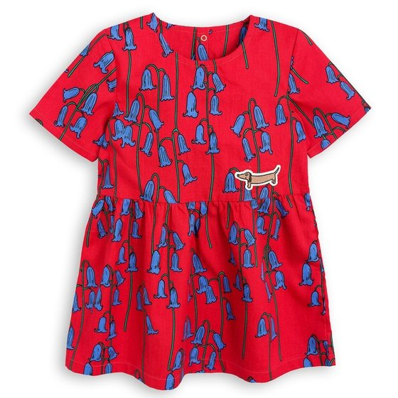Bluebells Printed Cotton Dress