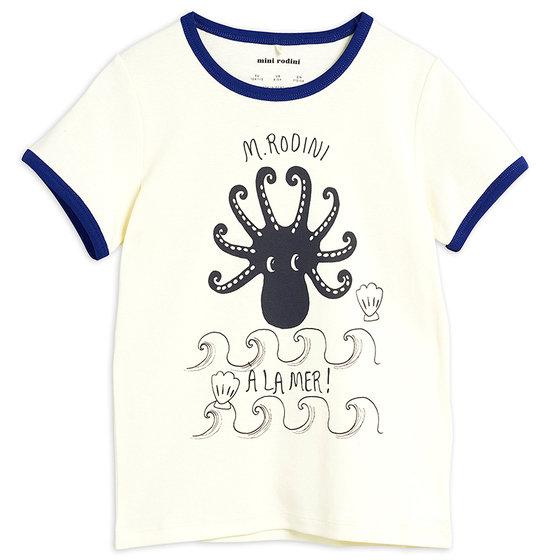 Blue Octopus SS Tee