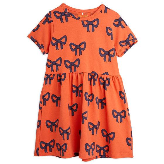 Bow AOP SS Dress