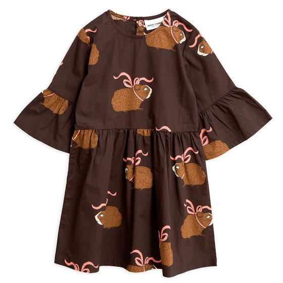 Brown Posh Guinea Pig Dress