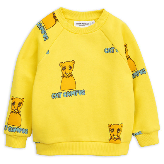Yellow Cat Campus Sweatshirt