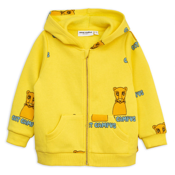 Yellow Cat Campus Zip Hoodie