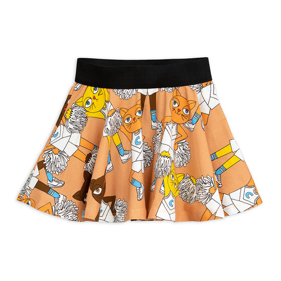 Cheer Cat AOP Skirt