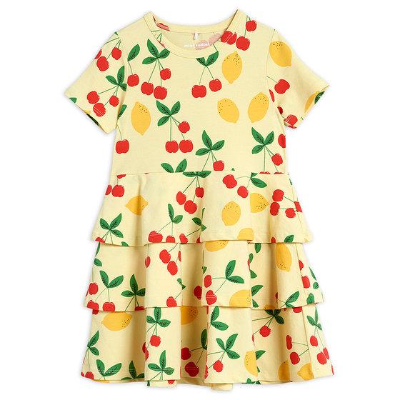 Cherry Lemonade AOP SS Dress