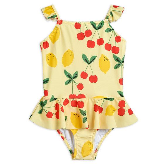 Cherry Lemonade Skirt Swimsuit