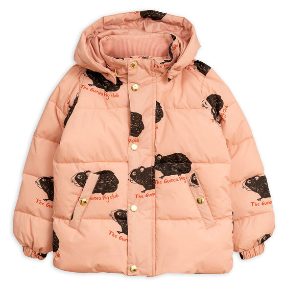 New Season: Guinea Pig Puffer Jacket