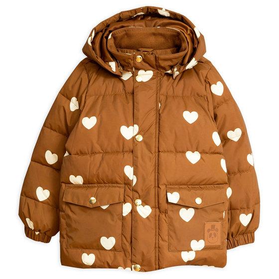 New Season: Hearts Pico Puffer Jacket