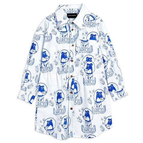 Lajka Woven Shirt Dress