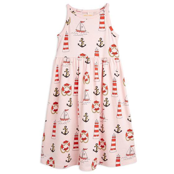 Lighthouse AOP Tank Dress