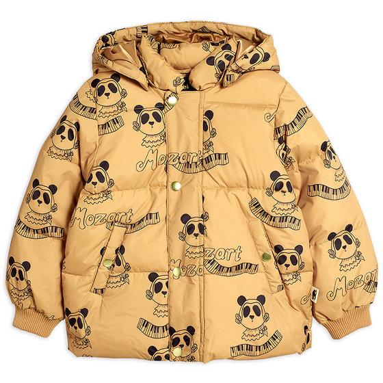 Mozart Panda Puffer Jacket