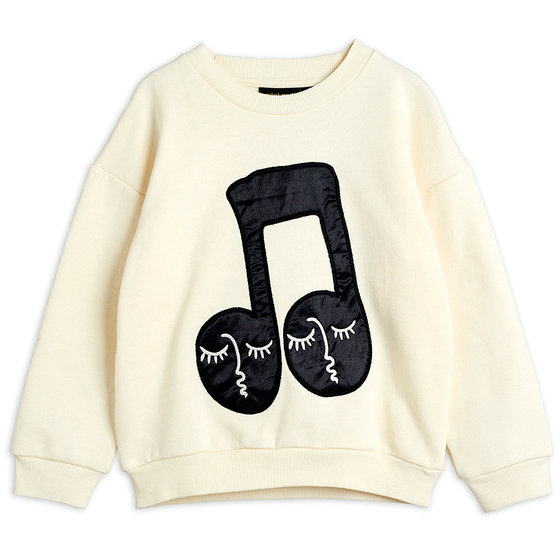 Note Patch Sweatshirt