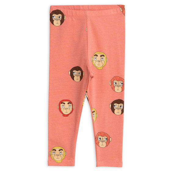 Pink Monkey AOP Leggings
