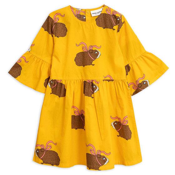 Yellow Posh Guinea Pig Dress