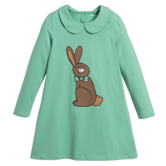 Rabbit Peter Pan Collar Dresses