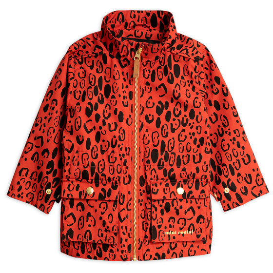New Season: Red Leopard Piping Jacket