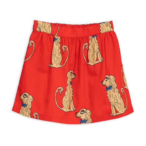 Spaniel AOP Woven Skirt