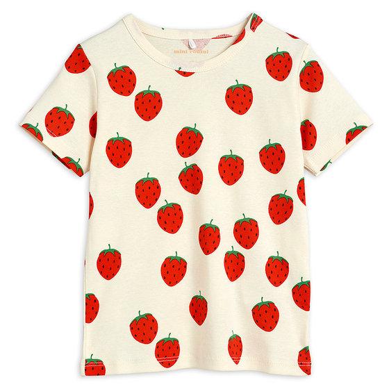 Strawberry AOP SS Tee