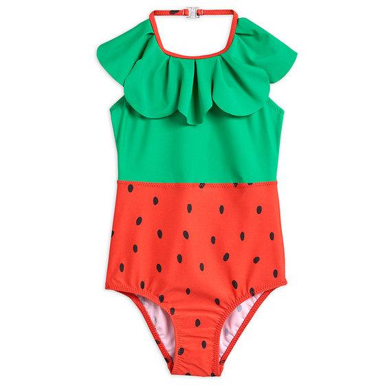 Strawberry Halterneck Swimsuit