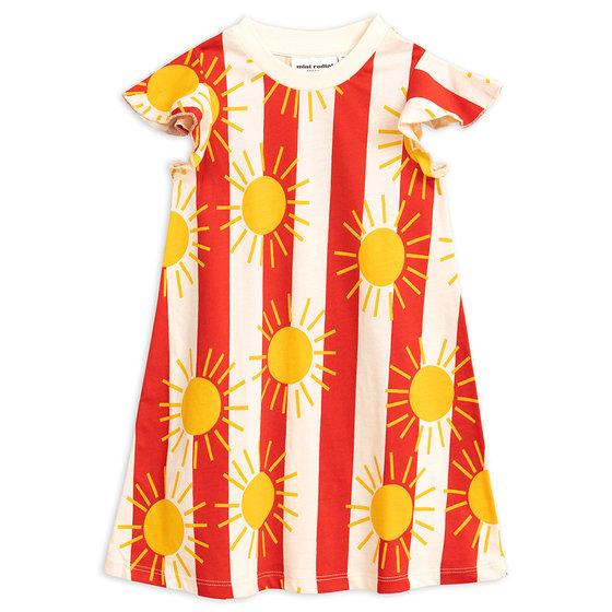 New Season: Sun Stripe AOP Wing Dress