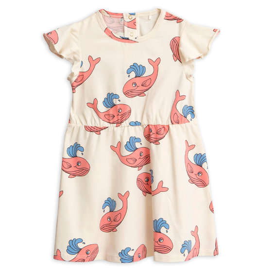 New Season: Whale AOP Wing Dress
