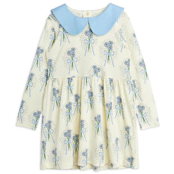 Winterflowers AOP LS Dress