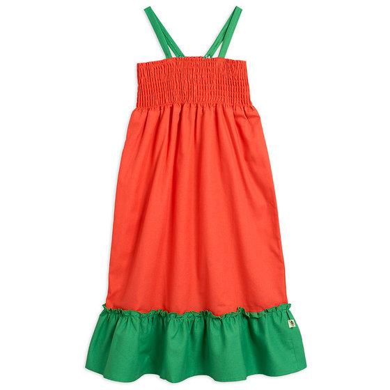 Woven Smock Dress