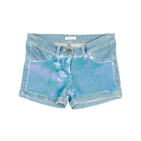 Sparkling sequin shorts